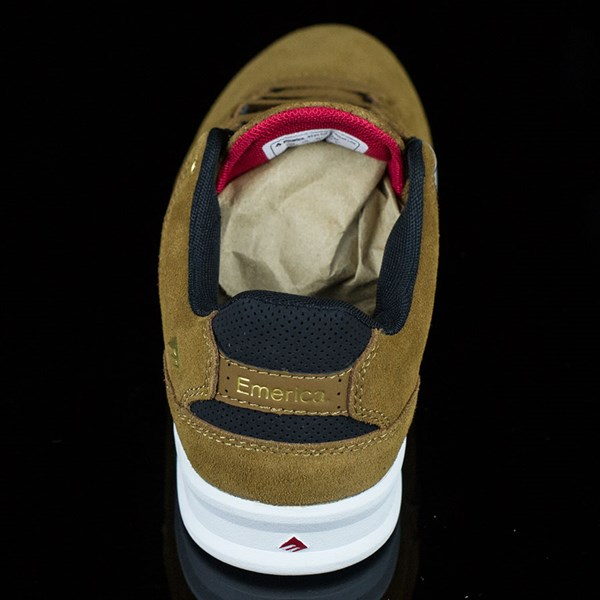 Emerica The Reynolds Low Shoes Brown, White Rotate 12 O'Clock