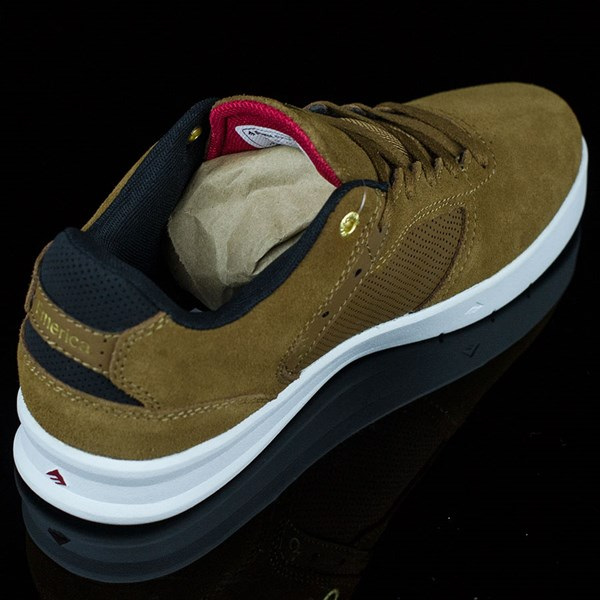 Emerica The Reynolds Low Shoes Brown, White Rotate 1:30