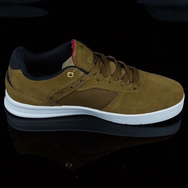 Emerica The Reynolds Low Shoes Brown, White Rotate 3 O'Clock
