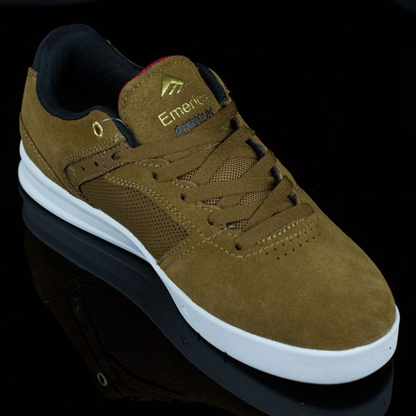 Emerica The Reynolds Low Shoes Brown, White Rotate 4:30