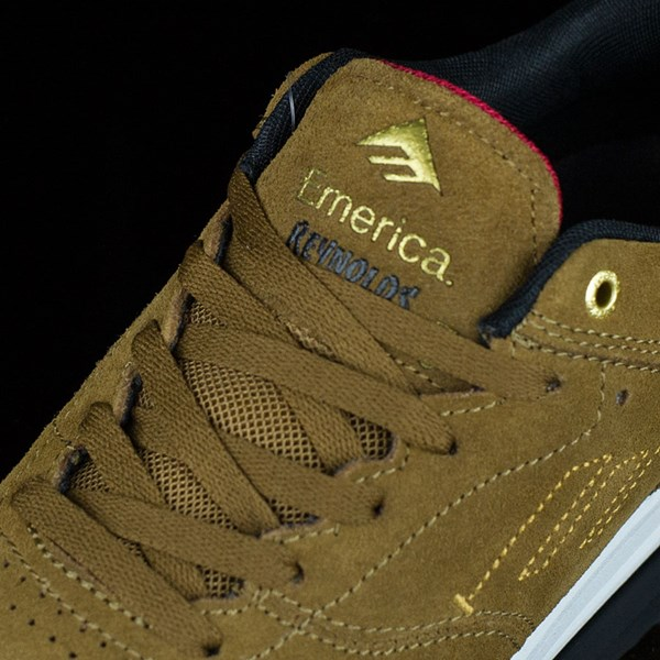 Emerica The Reynolds Low Shoes Brown, White Tongue