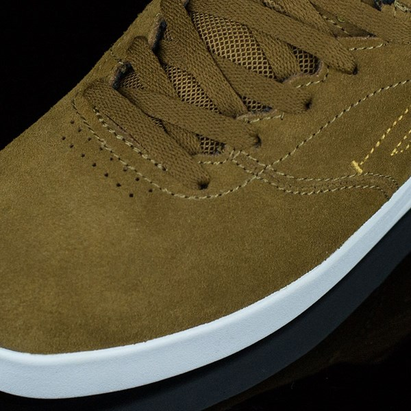Emerica The Reynolds Low Shoes Brown, White Closeup
