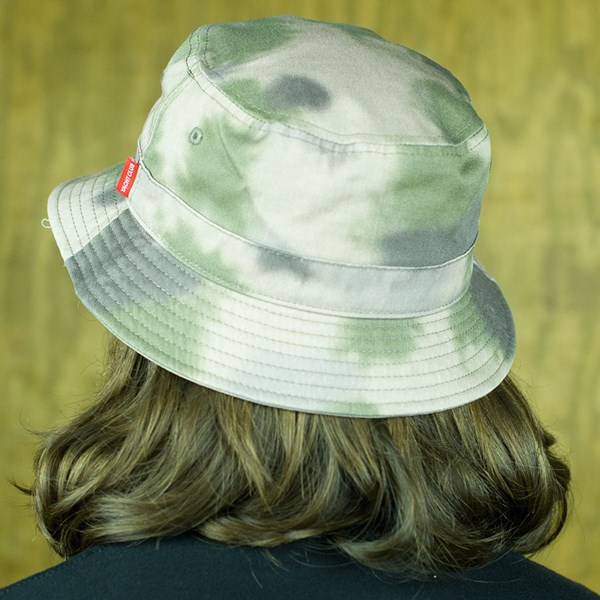 Asphalt Yacht Club Conceal Bucket Hat Camo From the back.
