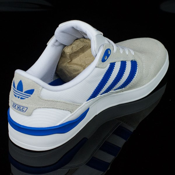 wholesale dealer 8a683 1d294 ZX Vulc Shoes White, Bluebird, Rodrigo Tx In Stock at The Boardr