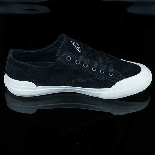 HUF Classic Lo Shoes Black, Bone Rotate 3 O'Clock