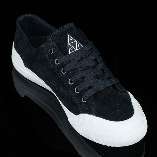 HUF Classic Lo Shoes Black, Bone Rotate 4:30