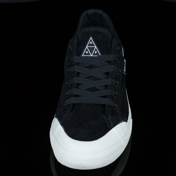 HUF Classic Lo Shoes Black, Bone Rotate 6 O'Clock