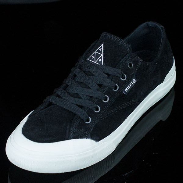 HUF Classic Lo Shoes Black, Bone Rotate 7:30
