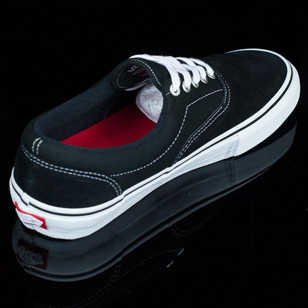 Vans Era Pro Shoes Black, White, Red Rotate 1:30
