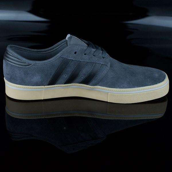 adidas Seeley ADV Shoes Dark Grey, Black, Gum Rotate 3 O'Clock