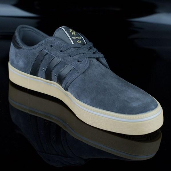 adidas Seeley ADV Shoes Dark Grey, Black, Gum Rotate 4:30