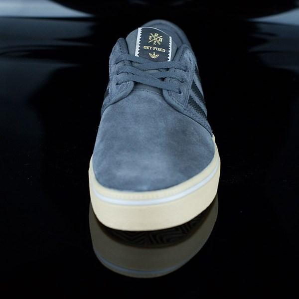 adidas Seeley ADV Shoes Dark Grey, Black, Gum Rotate 6 O'Clock