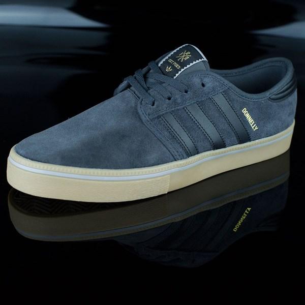 adidas Seeley ADV Shoes Dark Grey, Black, Gum Rotate 7:30