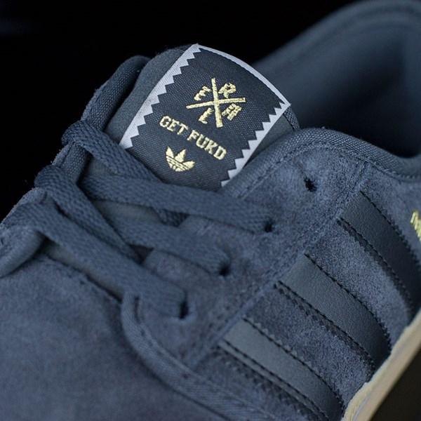 adidas Seeley ADV Shoes Dark Grey, Black, Gum Tongue