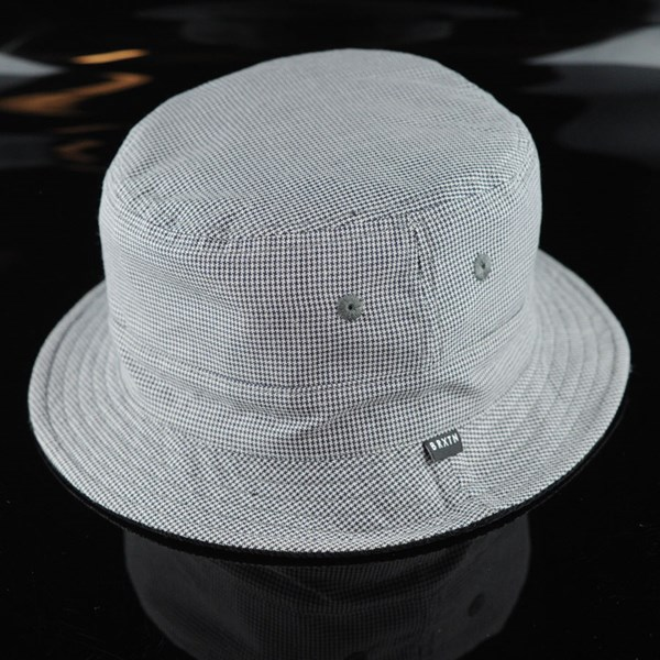 Brixton Tull Bucket Hat Black, Grey Reversed