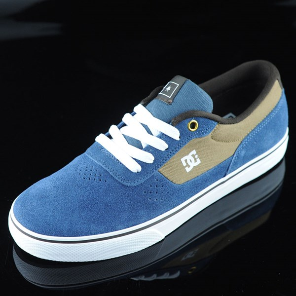 DC Shoes Switch Shoes Navy, Camel Rotate 7:30