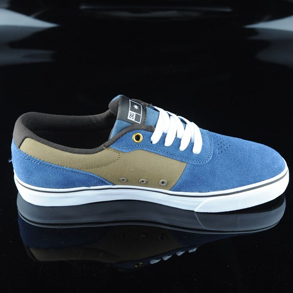 DC Shoes Switch Shoes Navy, Camel Rotate 3 O'Clock