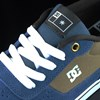 DC Shoes Switch Shoes Navy, Camel Tongue