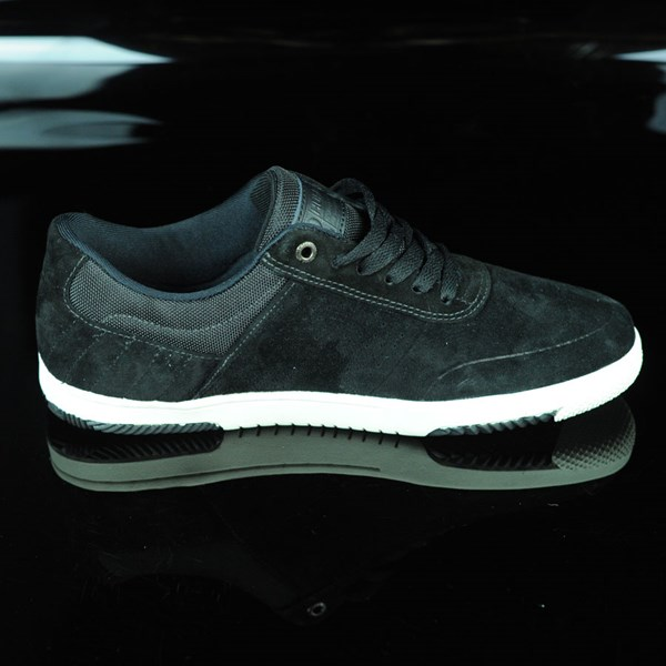 HUF Hufnagel 2 Shoes Black, Bone White Rotate 3 O'Clock
