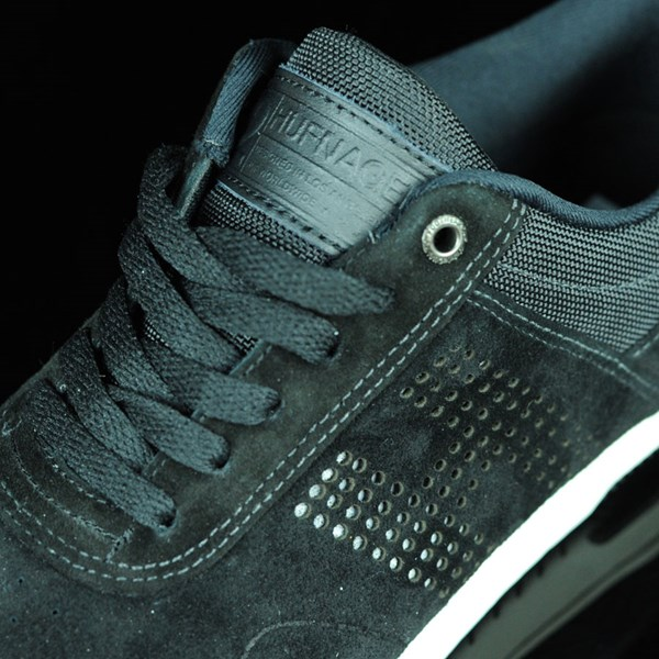 HUF Hufnagel 2 Shoes Black, Bone White Tongue