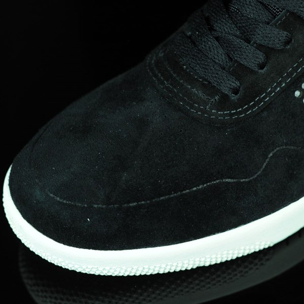 HUF Hufnagel 2 Shoes Black, Bone White Closeup