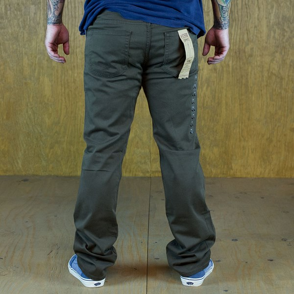 Vans V56 AV Covina Pants Chocolate Back