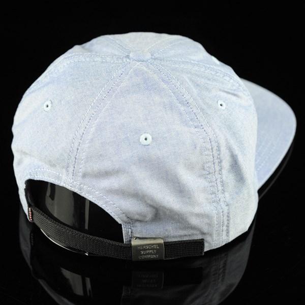 Herschel Albert Strap Back Hat Chambray back