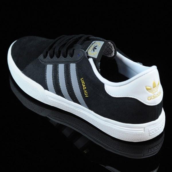 adidas Lucas ADV Shoes Black, Grey, White Rotate 7:30