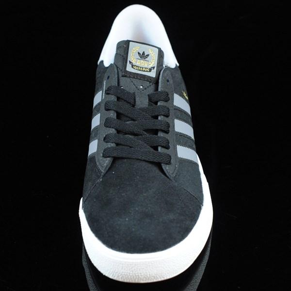 adidas Lucas ADV Shoes Black, Grey, White Rotate 6 O'Clock