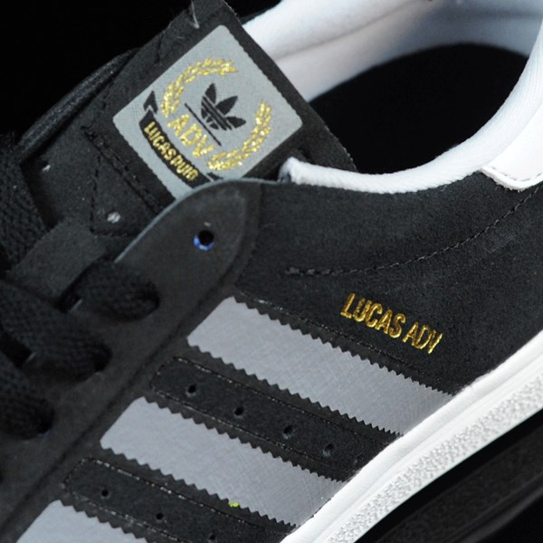 adidas Lucas ADV Shoes Black, Grey, White Tongue