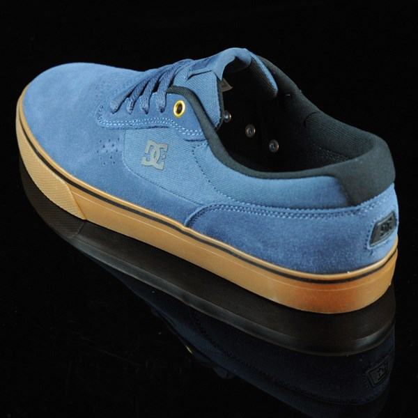DC Shoes Switch Shoes Dark Denim, Gum Rotate 7:30