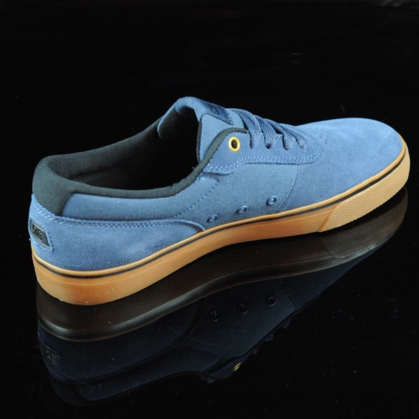 DC Shoes Switch Shoes Dark Denim, Gum Rotate 1:30
