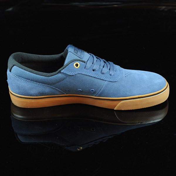 DC Shoes Switch Shoes Dark Denim, Gum Rotate 3 O'Clock