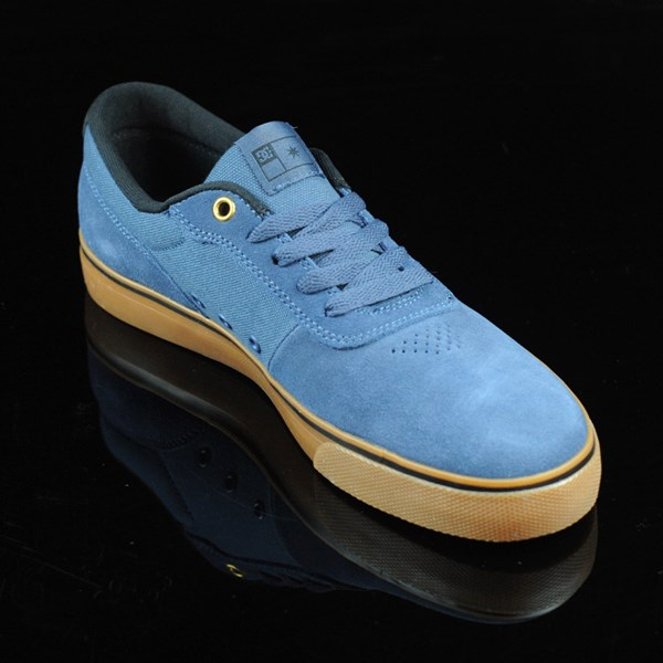 DC Shoes Switch Shoes Dark Denim, Gum Rotate 4:30