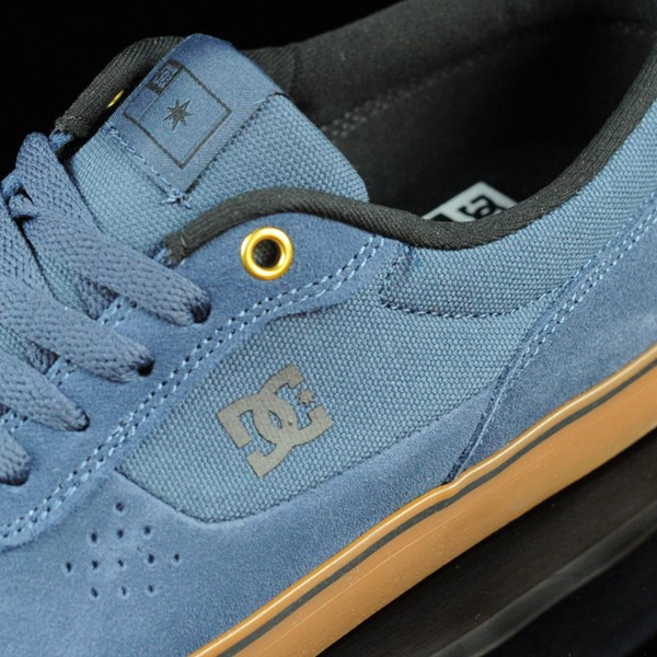 DC Shoes Switch Shoes Dark Denim, Gum Tongue