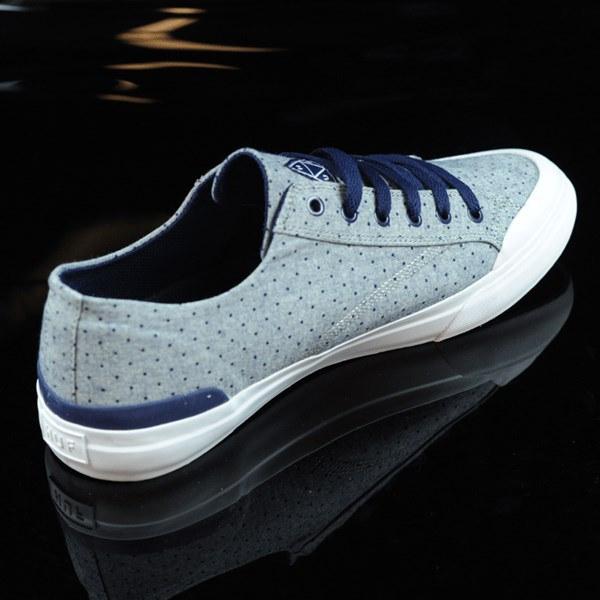 HUF Classic Lo Shoes Navy Dot Rotate 1:30