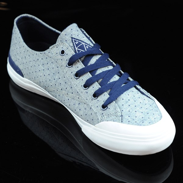 HUF Classic Lo Shoes Navy Dot Rotate 4:30