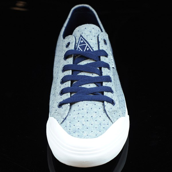 HUF Classic Lo Shoes Navy Dot Rotate 6 O'Clock