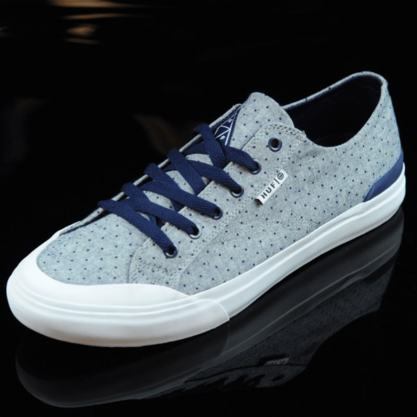 HUF Classic Lo Shoes Navy Dot Rotate 7:30
