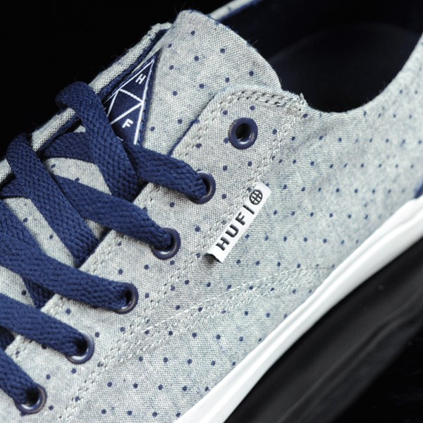 HUF Classic Lo Shoes Navy Dot Tongue