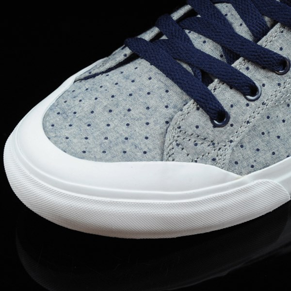 HUF Classic Lo Shoes Navy Dot Closeup