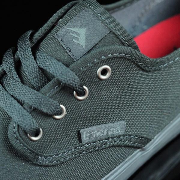 Emerica Wino Cruiser Shoes Black, Black Tongue