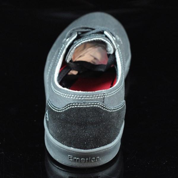Emerica The Romero Laced Shoes Black, Black, Gum Rotate 12 O'Clock