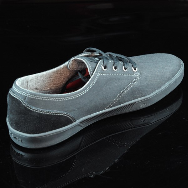 Emerica The Romero Laced Shoes Black, Black, Gum Rotate 1:30