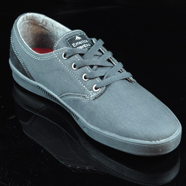 Emerica The Romero Laced Shoes Black, Black, Gum Rotate 4:30