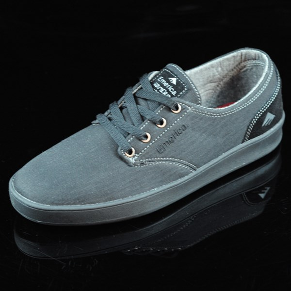 Emerica The Romero Laced Shoes Black, Black, Gum Rotate 7:30