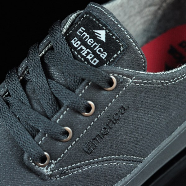 Emerica The Romero Laced Shoes Black, Black, Gum Tongue