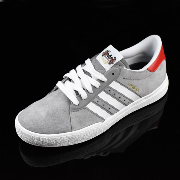 adidas Cliche X adidas Lucas ADV Shoes Charcoal, Solid Grey, White Rotate 7:30