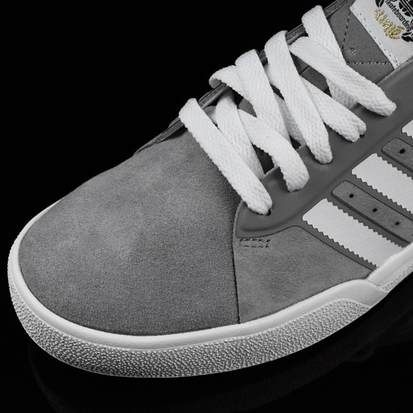 adidas Cliche X adidas Lucas ADV Shoes Charcoal, Solid Grey, White Closeup