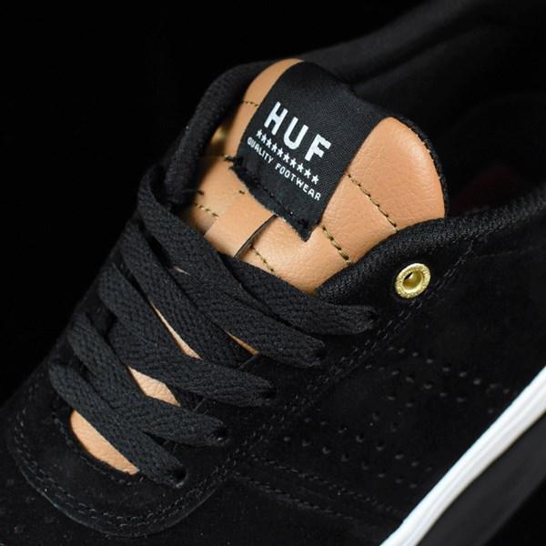 HUF Galaxy Shoes Black, Baseball Tongue